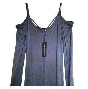 Laila Jayde cold shoulder top